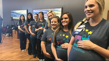 19 nurses pregnant at Baylor Scott and White NICU