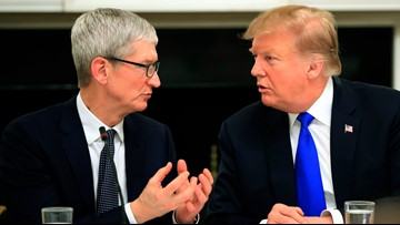 What's Trending: Who's 'Tim Apple?' President Trump calls Apple CEO by wrong name