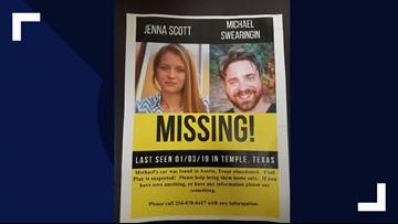 Bell County community holds organized search for Jenna Scott, Michael Swearingin