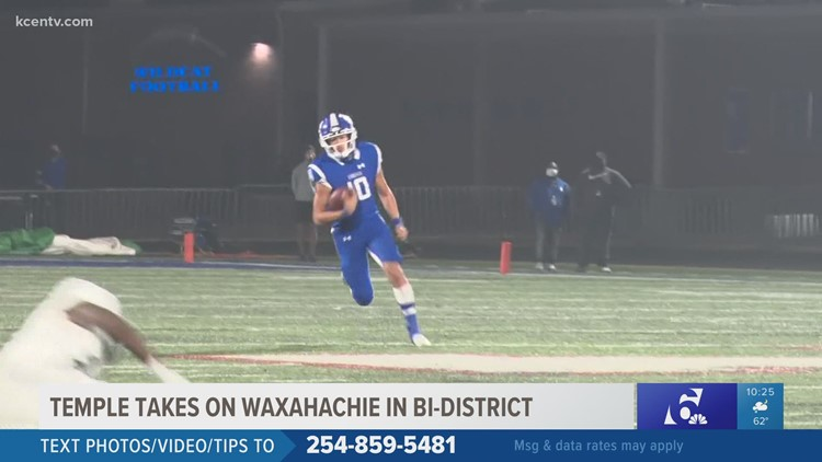 Temple Wildcats trample Waxahachie in first round of playoffs, 38-0