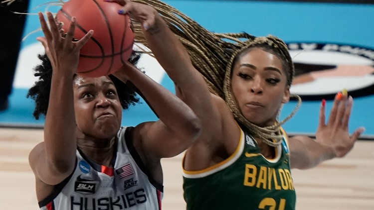 Baylor's Carrington is Connecticut-bound in WNBA Draft