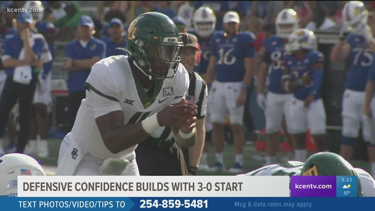Baylor: Defensive confidence builds with 3-0 start
