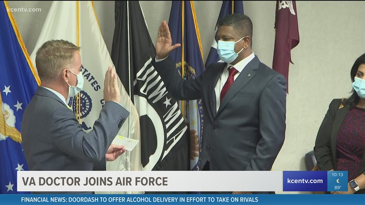 VA doctor joins Air Force