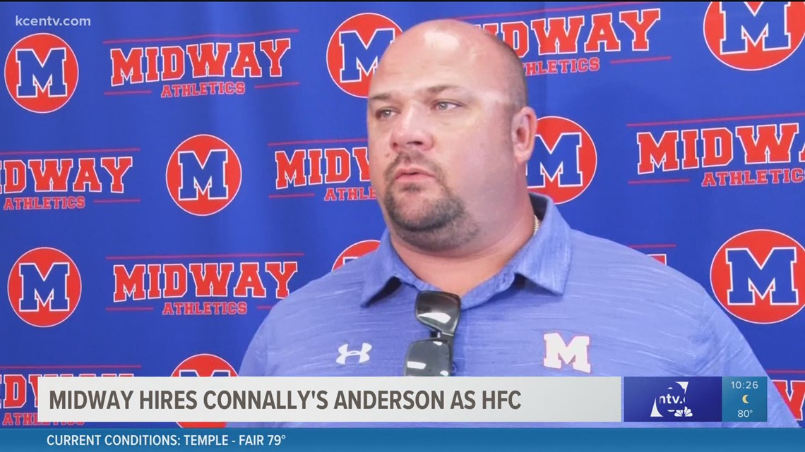 Midway hires Connally's Anderson as head football coach