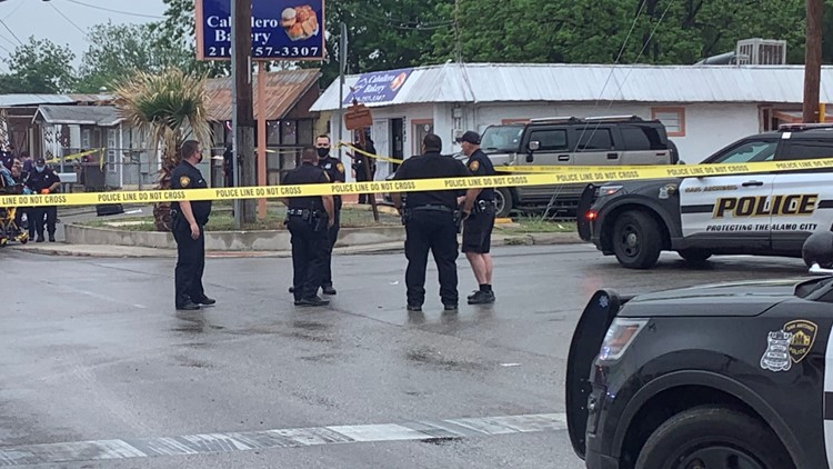 Two dead, officer injured after exchanging gunfire during traffic stop in west San Antonio