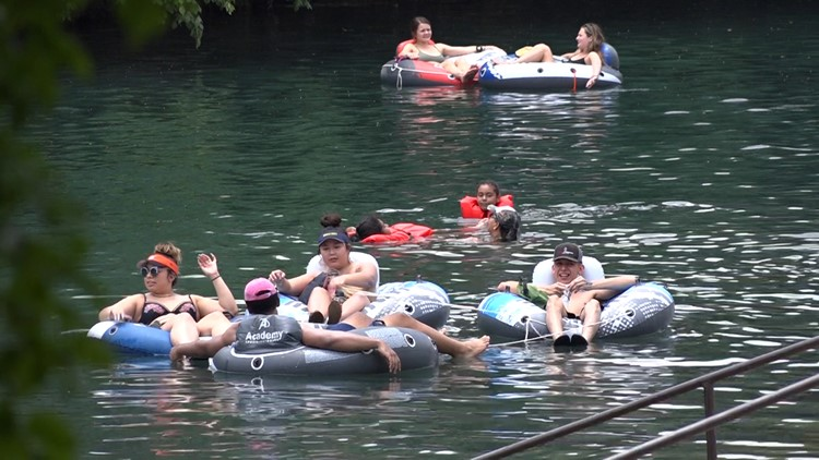 New Braunfels rivers welcome back tubers over Memorial Day Weekend