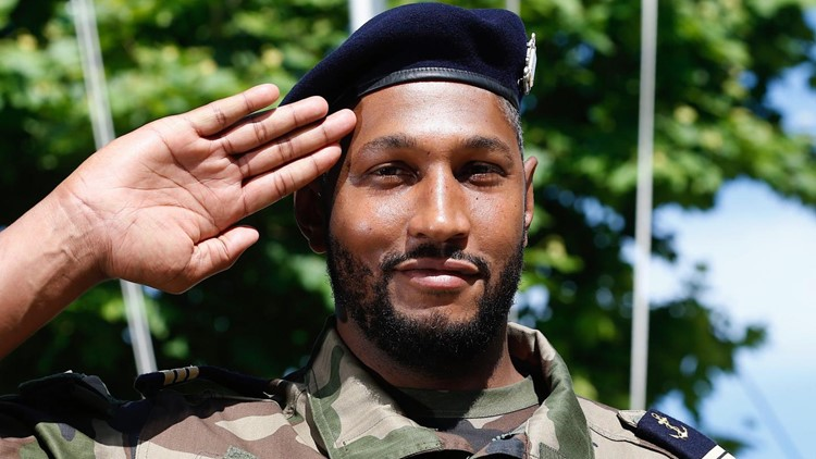 The French basketball player became a member of the Toulon Marine Rifle Reserve this week.