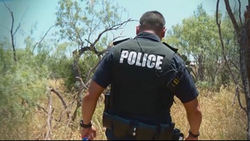 Body cam captures immigrant father suffering heat stroke at the border