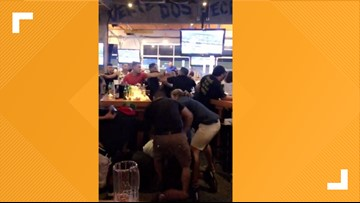Video: Bar brawl breaks out at northwest side sports bar