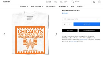 T-shirt pokes fun at Whataburger's sale to Chicago firm