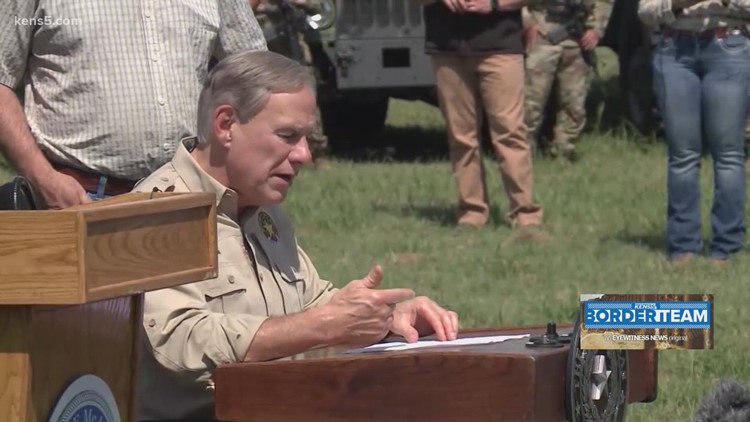 Gov. Abbott and 10 other state governors met in South Texas to discuss border security