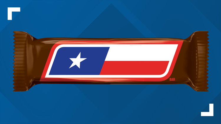 Texas-themed SNICKERS bars only here for limited time