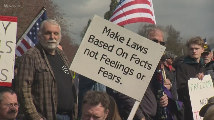 Thousands rally for Second Amendment rights in Salem