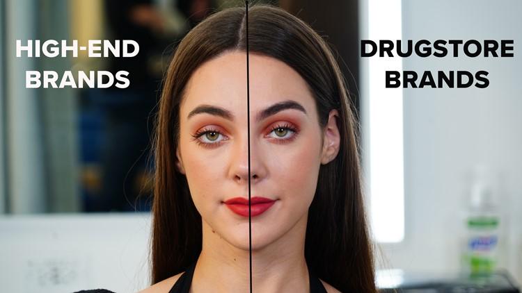 high end vs drugstore makeup 1