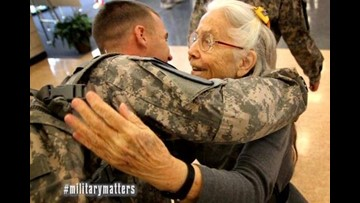 'Hug Lady' to get room named in her honor at Fort Hood