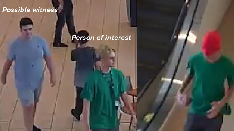 Person of interest and possible witness in scare at Memorial City Mall