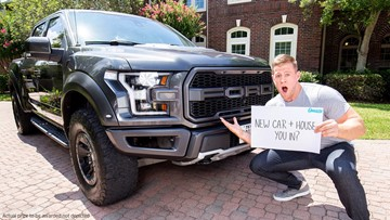 Texans star J.J. Watt giving away a Ford Raptor truck, $100K to put toward a house or mortgage