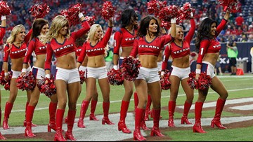 Former Houston Texans cheerleaders allege harassment, assaults in lawsuit