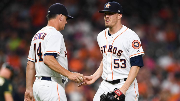 The Houston Astros have optioned relief pitcher Ken Giles to Triple A Fresno, the team announced Wednesday.