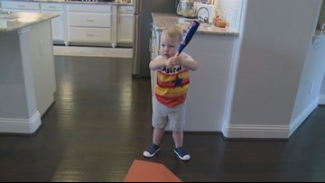 Little Astros fan invited to game by manager A.J. Hinch