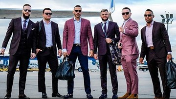 PHOTOS: Astros look more like GQ models for final regular season road trip