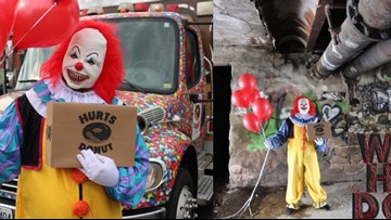 Hurts Donut offers scary clown deliveries in Houston area