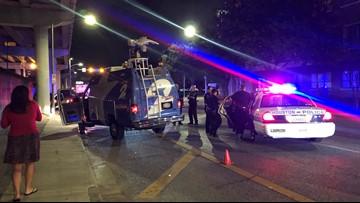 Suspect tries to carjack KPRC 2 news crew, steals patrol car