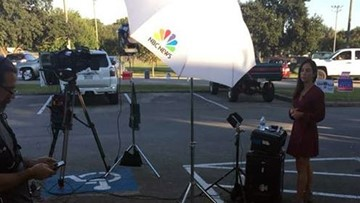 Disabled Houston veteran: MSNBC crew blocked handicapped spots at polling place
