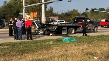 Houston man charged with manslaughter after crash that killed his child