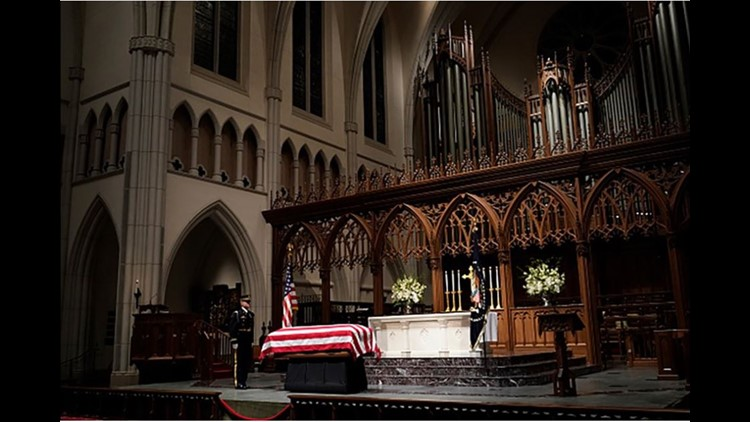 LIVE VIDEO: Full coverage the celebration of George H.W. Bush's life