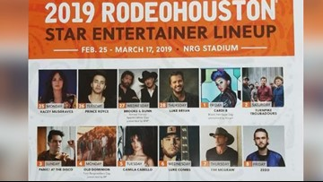 Ticketmaster leaks Rodeo lineup but stops selling concert tickets