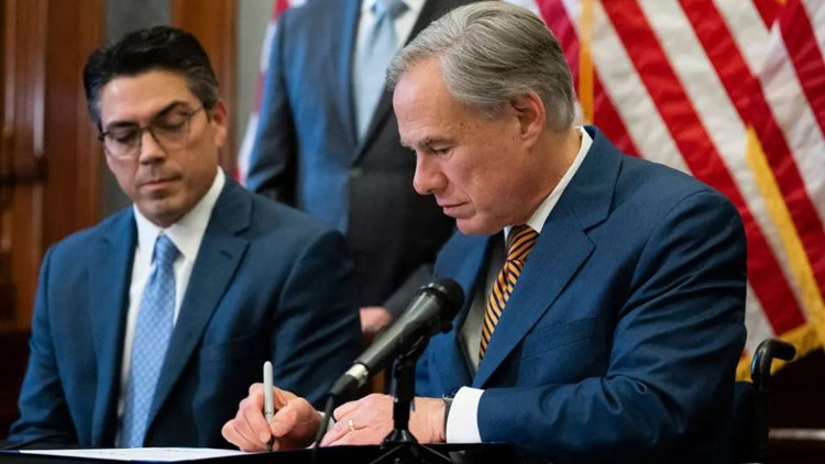 New Texas laws signed by Gov. Greg Abbott after 2021 legislative session