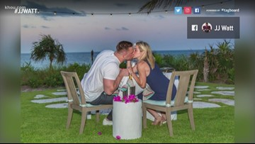 Texans' J.J. Watt and Houston Dash's Kealia Ohai are engaged!
