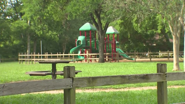 Houston residents say they've been finding disturbing things in the woods of their neighborhood park