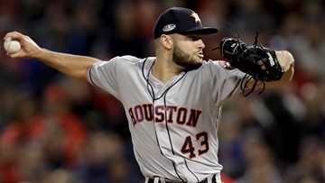 Astros pitcher offering chance to win World Series tickets