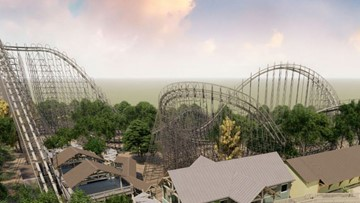 'Tallest, fastest, longest' wooden roller coaster in Texas coming to soon to SeaWorld