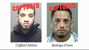 Tips lead to arrests of 2 on Texas 10 Most Wanted list