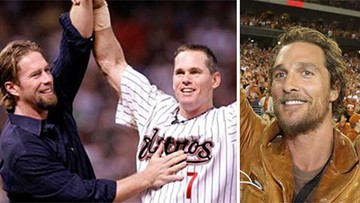 Craig Biggio, Jeff Bagwell and Matthew McConaughey will get the Minute Maid Game 7 party started