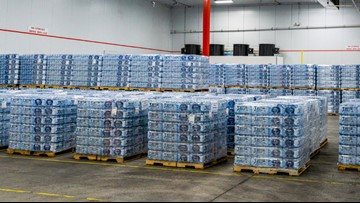 Royal Caribbean sends huge shipment of water, food and generators to the Bahamas
