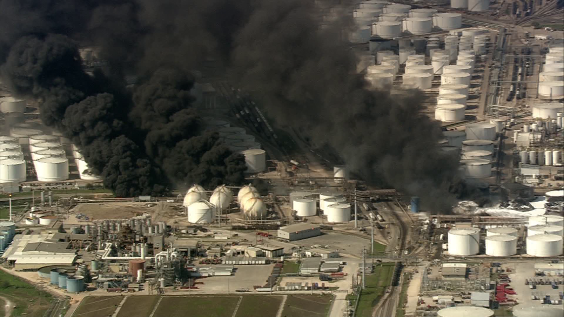 Contaminants get into water after ITC Deer Park fire, containment wall breach