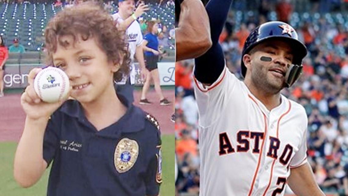Officer Abigail to meet José Altuve before World Series Game 1