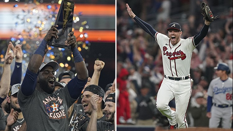 Astros will take on Braves on 2021 World Series