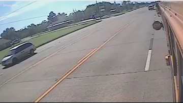Santa Fe ISD adds cameras to school buses to catch drivers who bypass a stopped bus