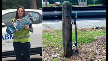 Finders keepers! Veteran says she'll mount Tony Hawk's 'lost' skateboard next to her military awards