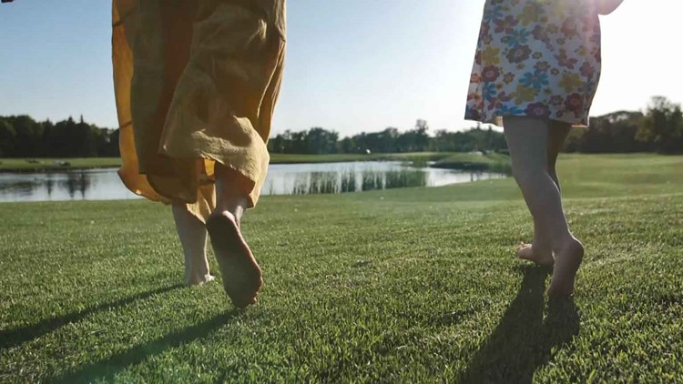 Your Best Life | Get your feet on the ground for inner peace