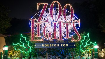 Houston Zoo Lights 2019 starts Nov. 23