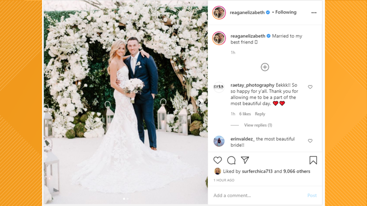Alex, Reagan Bregman sue San Antonio resort over $80,000 refund for canceled wedding