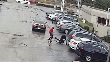 Video: Jugging suspects viciously attack man after following him from west Houston bank