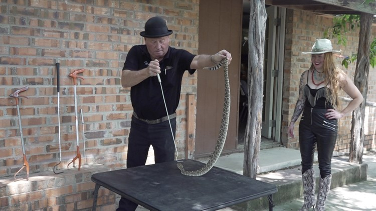 Texas Snake Man Jackie Bibby carries on longstanding traditions