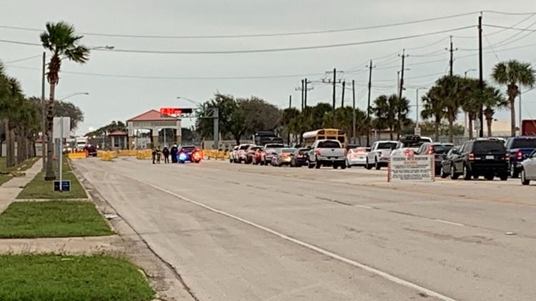 Suspect in custody, Naval Air Station Corpus Christi lifts lockdown